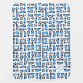 Boy's Classic Mini Baby Blanket