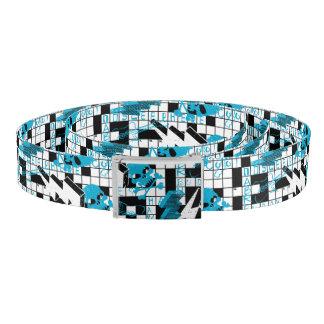 Boy's crossword puzzle belt