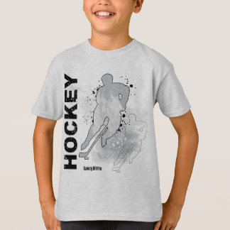 Boys Double Vision Hockey (male) T-Shirt
