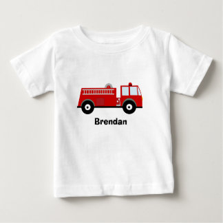 Boys Fire Truck T Shirt