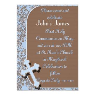 Boys First Holy Communion Invitations