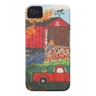 Boys Fishing Under The Covered Bridge Case-Mate iPhone 4 Cases