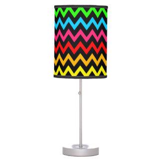 Boys Girls Home Decor Colorful Neon Rainbow Table Lamp