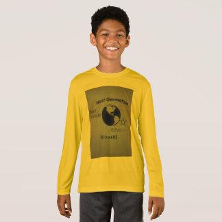 Boys Gold Long-Sleeve T-Shirt Next Generation