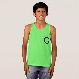 Boys green  tank top.