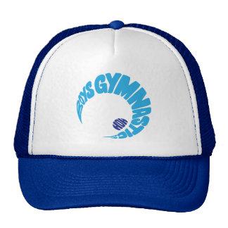Boys Gymnastics Cap Trucker Hat