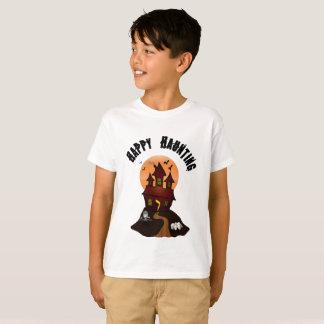 Boy's Happy Haunting Halloween Tshirt