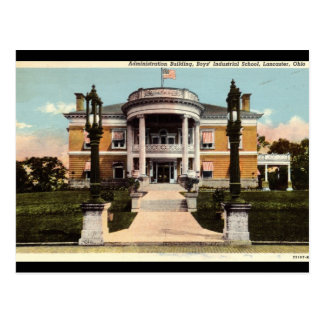 Boys Industrial School, Lancaster, Ohio Vintage Postcard