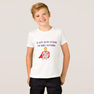 Boy's kids can be heroes t-shirt