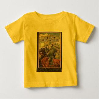 Boys King Arthur Book Cover Baby T-Shirt