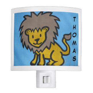 Boys Lion Night Light