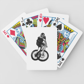Boys mountain bike T Shirt presents MTB Bicycle Playing Cards