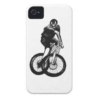 Boys mountain bike T Shirt presents MTB iPhone 4 Case-Mate Case