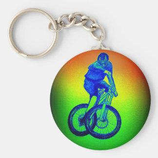 Boys mountain bike T Shirt presents MTB Keychain