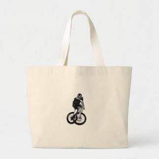 Boys mountain bike T Shirt presents MTB Large Tote Bag