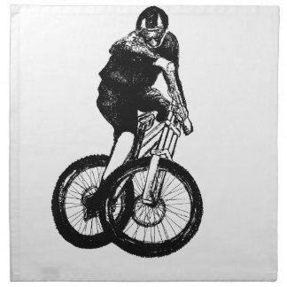 Boys mountain bike T Shirt presents MTB Napkin