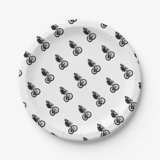 Boys mountain bike T Shirt presents MTB Paper Plate
