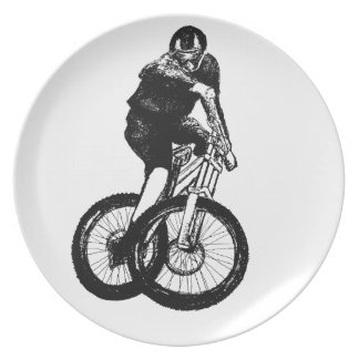 Boys mountain bike T Shirt presents MTB Plate