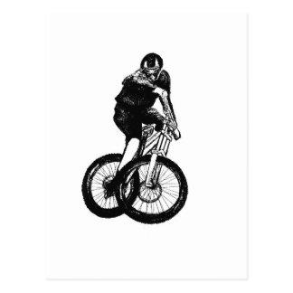 Boys mountain bike T Shirt presents MTB Postcard