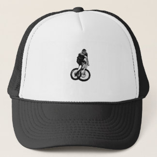 Boys mountain bike T Shirt presents MTB Trucker Hat