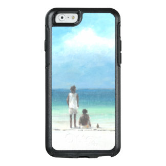 Boys on Beach Kenya OtterBox iPhone 6/6s Case