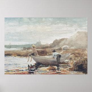 Boys on the Beach Poster
