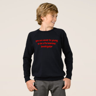 Boys Paranormal T-shirt