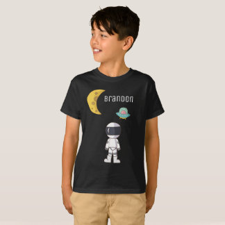 Boys Personalized Astronaut Shirt