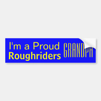 Boys Ranch High School PROUD Grandpa Car Sticker