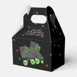 Boy's Roller Skate Birthday Party Favor Box