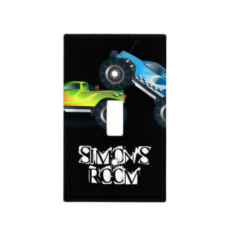 Boy's Room Light Switch Cover