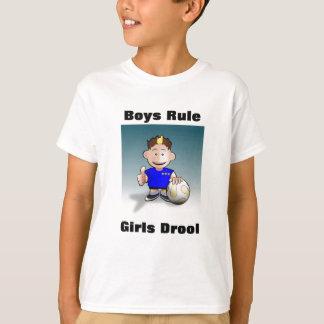 Boys Rule, Girls Drool Boys T-Shirt