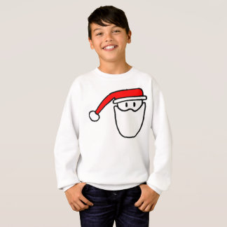 Boys Santa Festive Jumper Sweatshirt