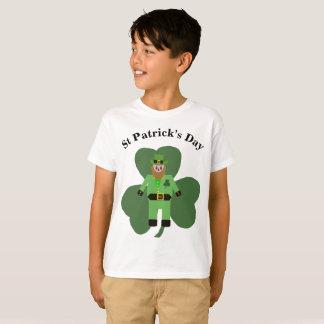 Boys St Patricks Day Leprechaun T-Shirt