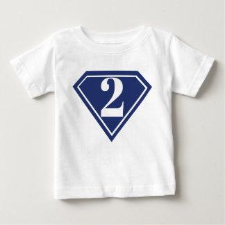 Boys Superhero 2nd Birthday Shirt