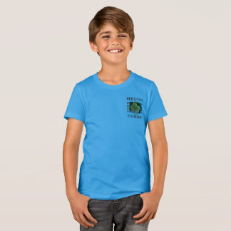 Boys T-Shirt, Hawaiian Tapestry T-Shirt