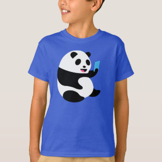 "Boys T-Shirt: ""Selfie Panda"" T-Shirt"