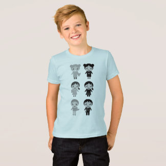 Boys t-shirt with Emo kids
