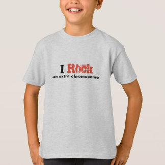 "Boys Tshirt ""I rock an extra chromosome"""