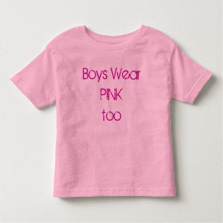 boys wear pink toddler t-shirt