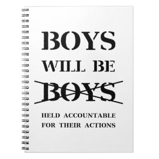 Boys will be Boys Notebook (curse free)