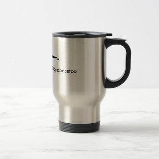 #Boysdancetoo the movement Travel mug