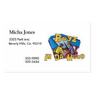 Boyz In Da Hood Pack Of Standard Business Cards