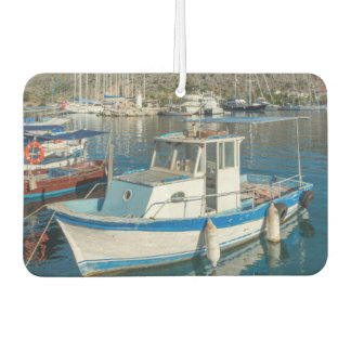 Bozburun Harbour Near Marmaris, Turkey Car Air Freshener