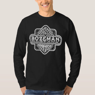 Bozeman Diamond Grunge Logo T-Shirt