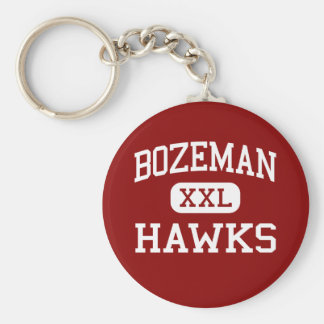 Bozeman - Hawks - High School - Bozeman Montana Keychain