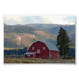 Bozeman, Montana, Barn Photo Print