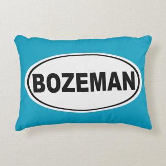 Bozeman Montana Decorative Pillow