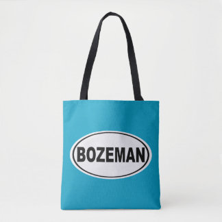 Bozeman Montana Tote Bag