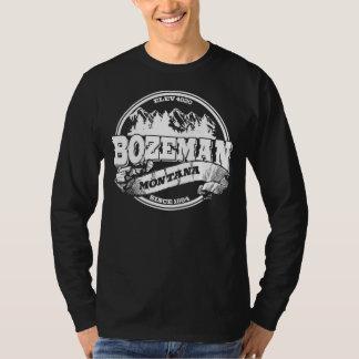 Bozeman Old Circle White T-Shirt